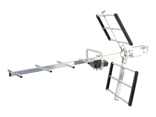 antena link bits hd001, diseño plegable fabricada en materiales ligeros, alta definiciÓn, especial para uhf