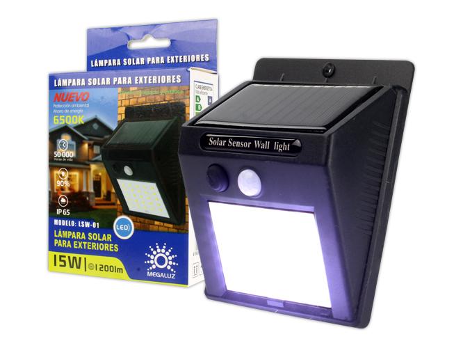 LAMPARA SOLAR 15W LSCS16
