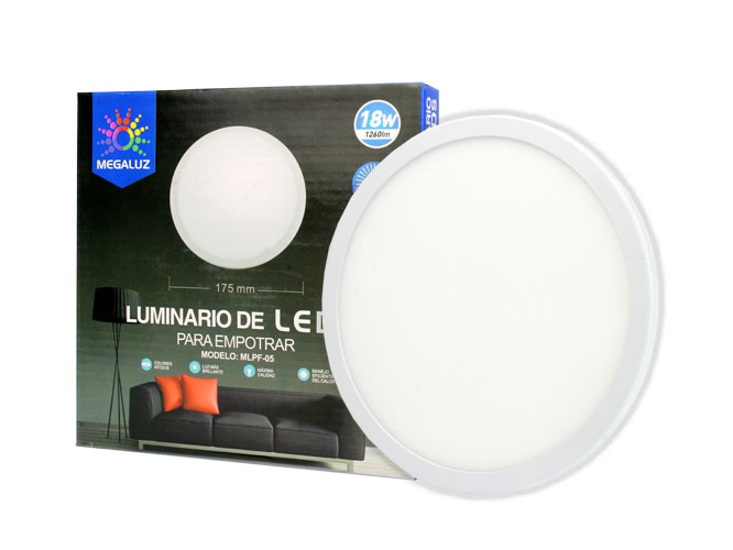 lampara led megaluz s09w18ib