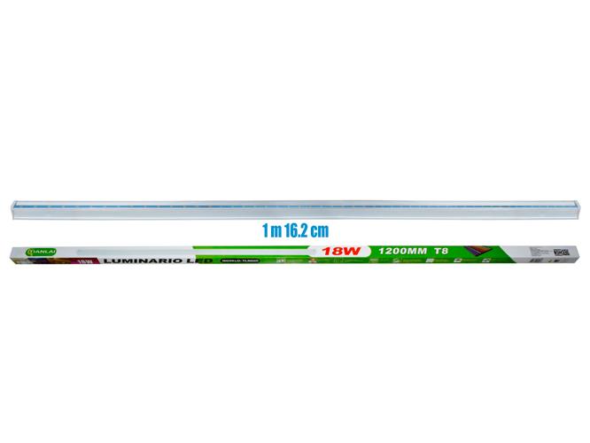 Disfruta de más luz, con el TUBO LED MEGALUZ T8X2C09R, para techo, ligera, fácil de instalar, larga duración; ideal para iluminar tu hogar, oficina o comercio, también te ayuda a ahorrar energía hasta en un 80%. Por todo eso y más es el reemplazo perfecto de la lámpara tradicional.