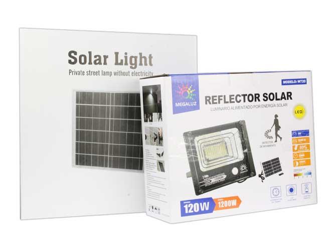 REFLECTOR SOLAR CON SENSOR DE MOVIMIENTO W720
