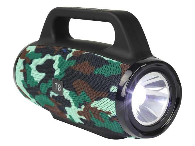 bocina lampara t8