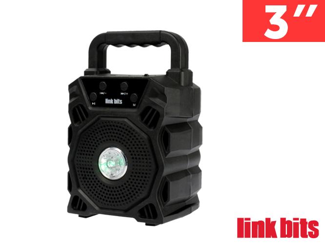 BOCINA  VA333TL, BLUETOOTH, RADIO FM Y ENTRADA USB, CON LUZ FRONTAL