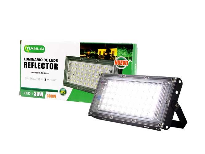 REFLECTOR R18W30MM30, LED LUZ BLANCA