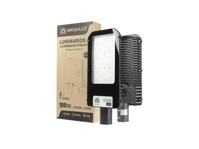 Luminario megaluz LDT100W1F, con sensor fotosencible