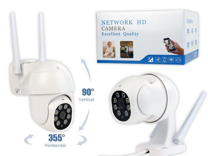 Camara Video vigilancia P3, 1080p, tipo cúpula ideal para casas y talleres
