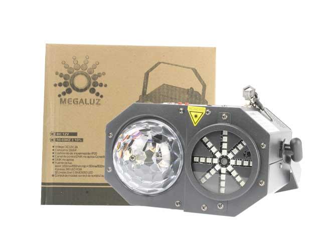 Llévate el increíble cañón laser GALAXY II LA008 y dale vida  a tus fiestas