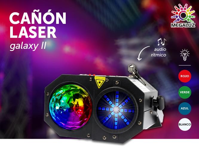 Cañon laser GALAXY II LA008