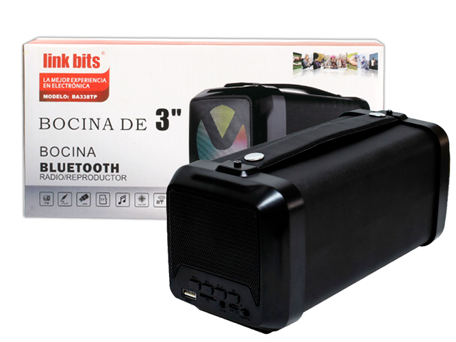 Bocina portatil BA338TP (kts-1059)