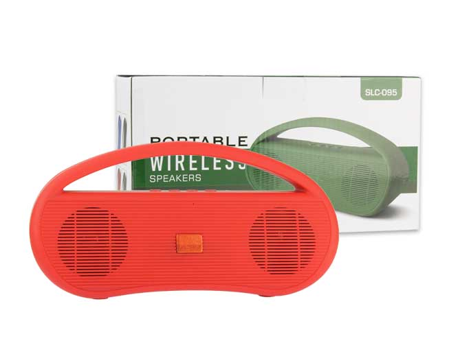 BOCINA BLUETOOTH, RADIO FM, USB SLC-095