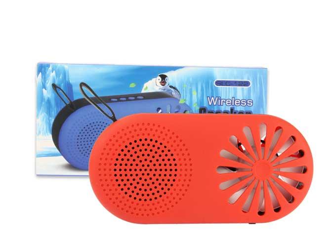 BOCINA SLC-122 BLUETOOTH, RADIO FM, USB CON VENTILADOR