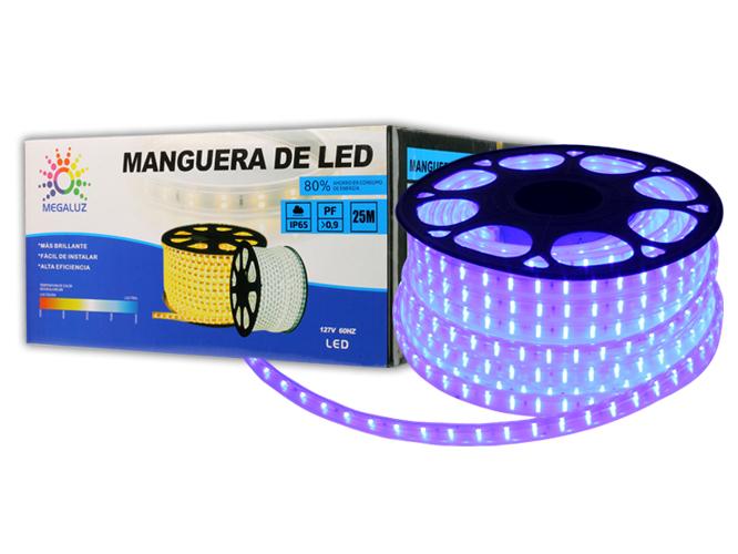 MANGUERAS  LED AZUL 225W25M5