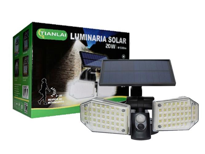 LUMINARIA SOLAR LS20W04