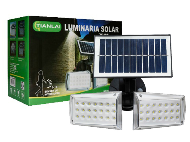 LUMINARIA SOLAR LS30W10