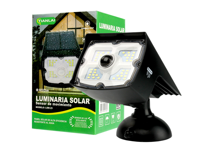 LUMINARIA SOLAR LS15W20