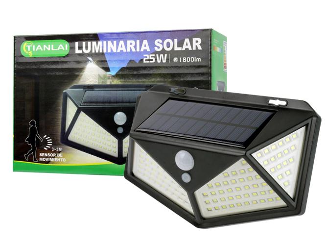 LUMINARIA SOLAR LS25W27