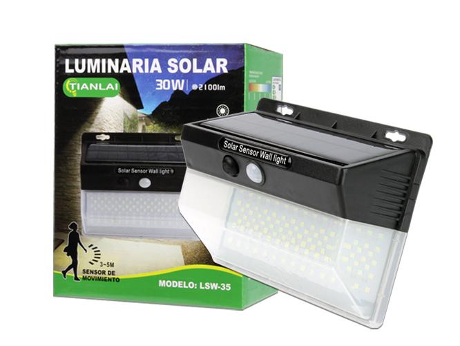 LUMINARIA SOLAR LS30W30