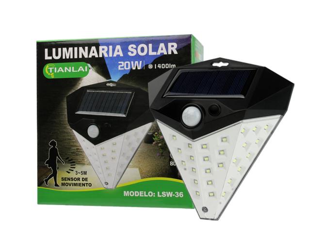 LUMINARIA SOLAR LS15W31