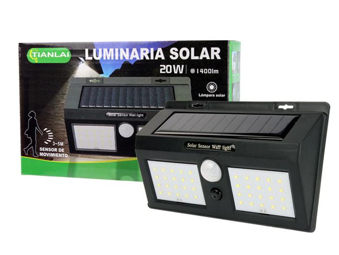 LUMINARIA SOLAR LS20W32