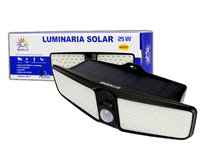 LUMINARIA SOLAR LS25W22