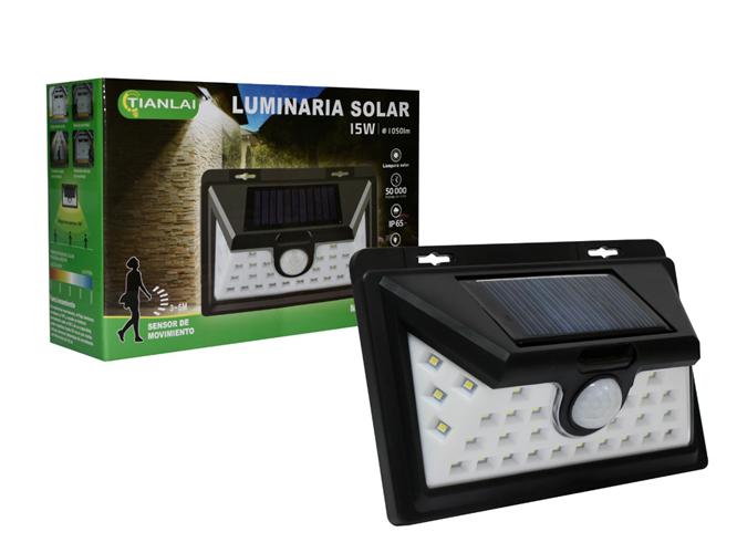 LUMINARIA SOLAR LS15W45