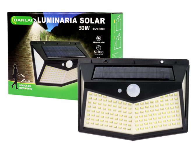 LUMINARIA SOLAR LS30W51