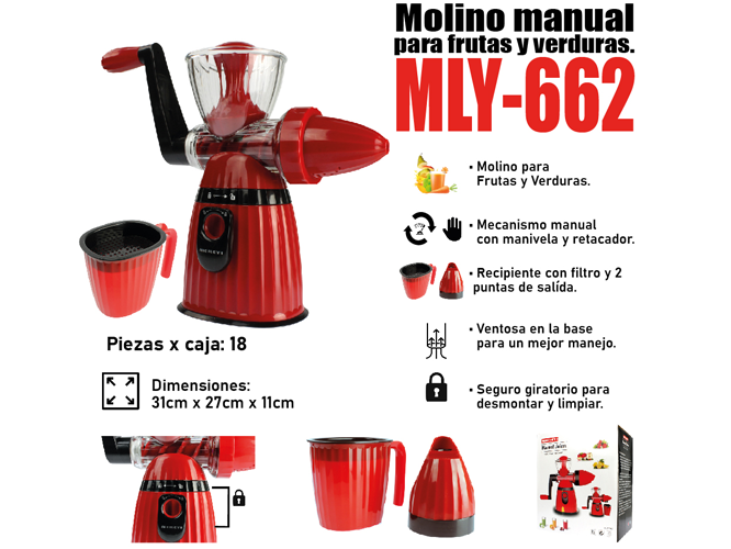 MOLINILLO DE CARNE MLY-662