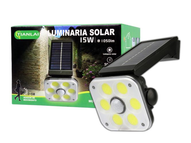 LUMINARIA SOLAR LS15W52