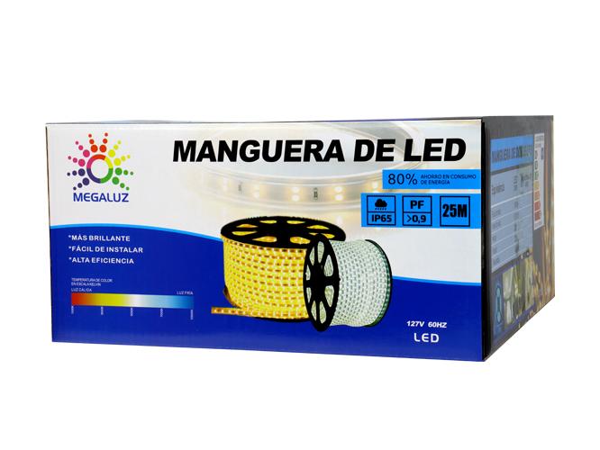 MANGUERAS LED DOS COLOR 225W25M2