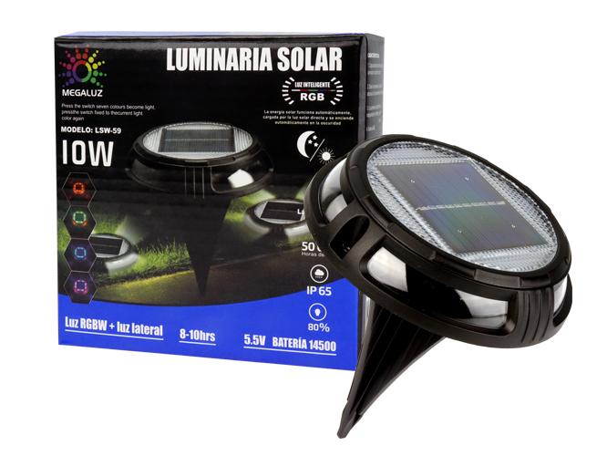 LUMINARIA SOLAR LS10W54