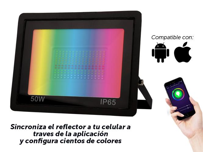 REFLECTOR  INTELIGENTE RINW50