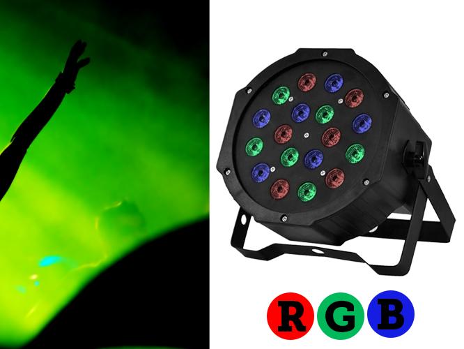 PAR 18*3W RGB