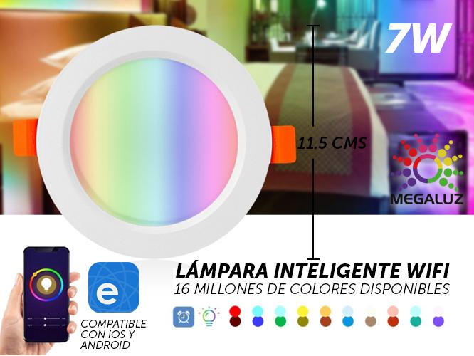 LAMPARA INTELIGENTE WIFI LINW7P