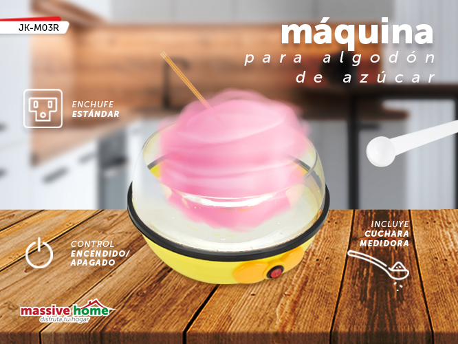 MAQUINA DE ALGODON JK-M03R