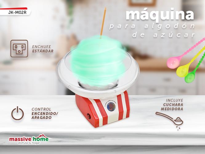 MAQUINA DE ALGODON JK-M02R