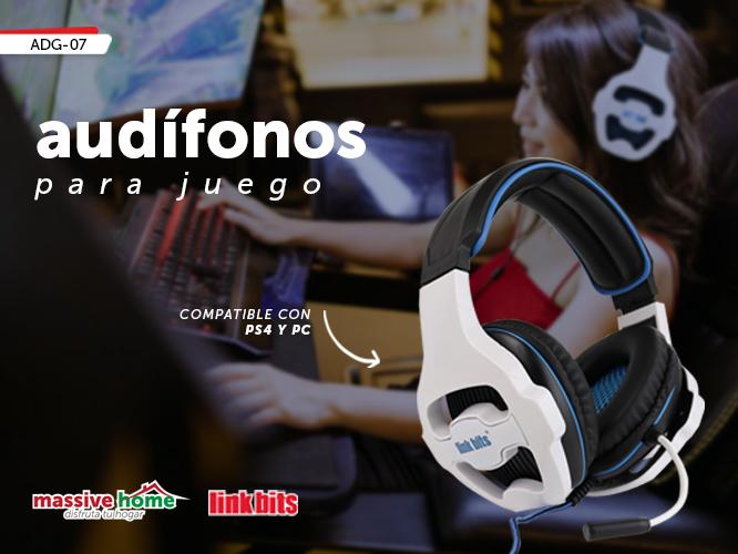 AUDIFONO PARA JUEGO ADG-07