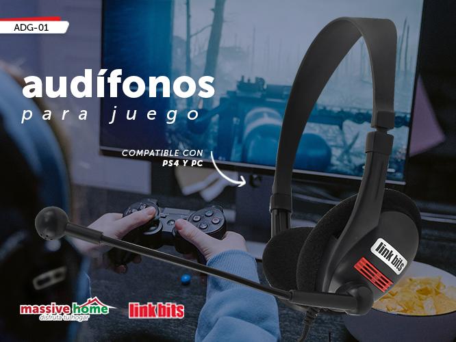 AUDIFONO PARA JUEGO ADG-01