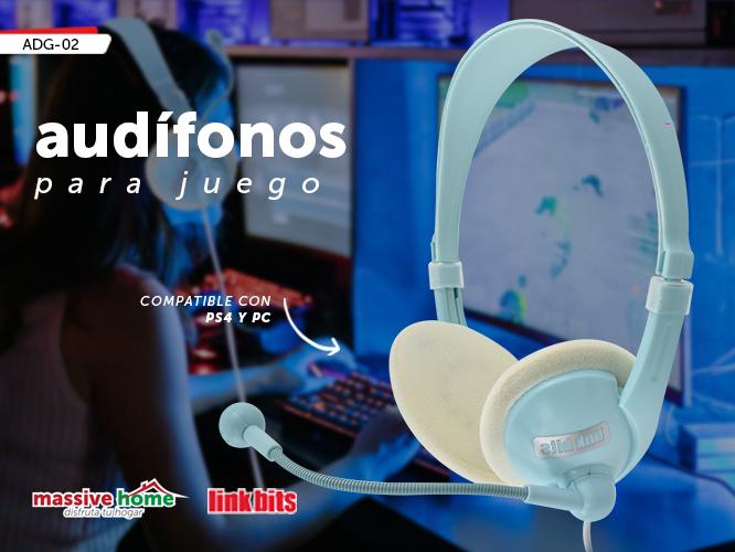 AUDIFONO PARA JUEGO ADG-02