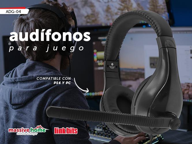 AUDIFONO PARA JUEGO ADG-04