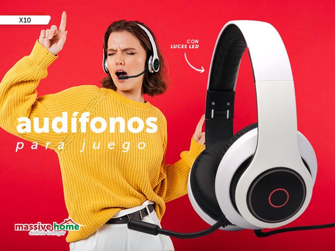 AUDIFONO PARA JUEGOS X10