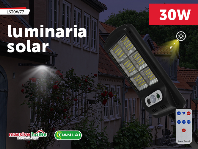 LUMINARIA SOLAR LS30W77