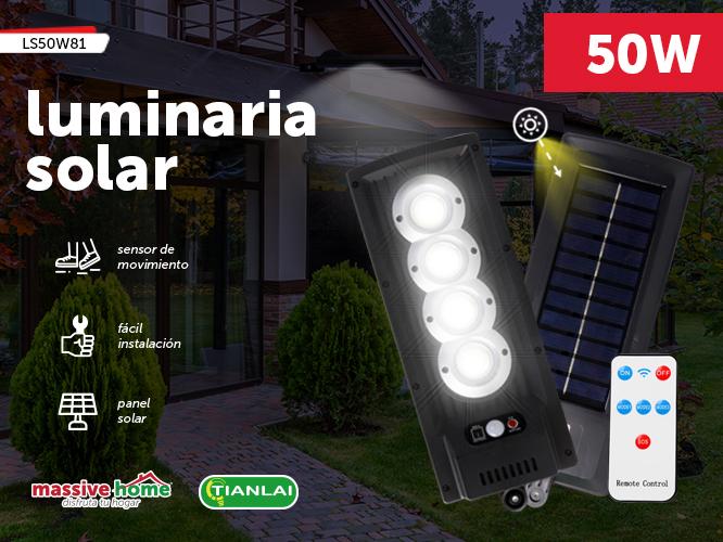 LUMINARIA SOLAR LS50W81