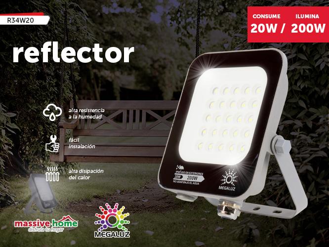 REFLECTOR R34W20