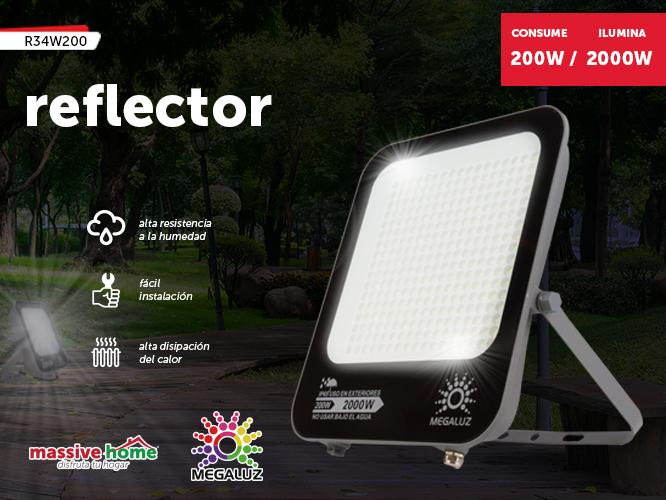 REFLECTOR R34W200