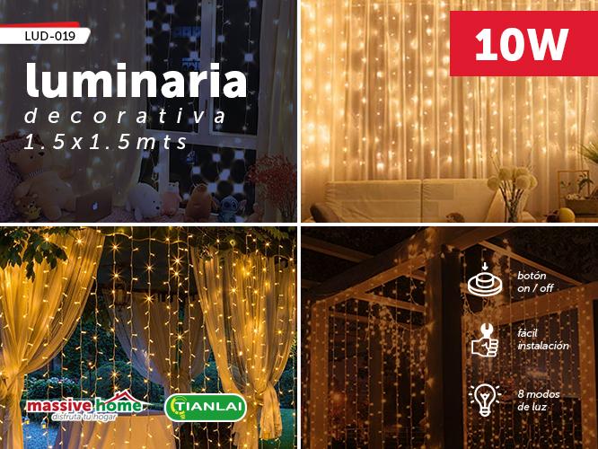 LUMINARIA DECORATIVA LUD-019
