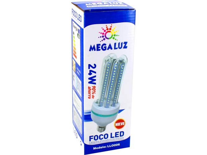 Foco LED 4U24W01, 24w, luz fria, ideal para interiores