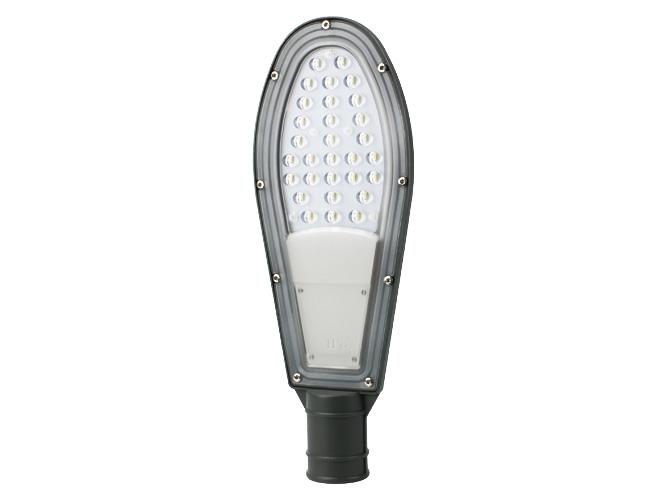 lÁmpara tipo alumbrado pÚblico megaluz lap001 c30w01u, uso rudo, 3600lm, certificado ip65, Ángulo de iluminaciÓn 220 grados.