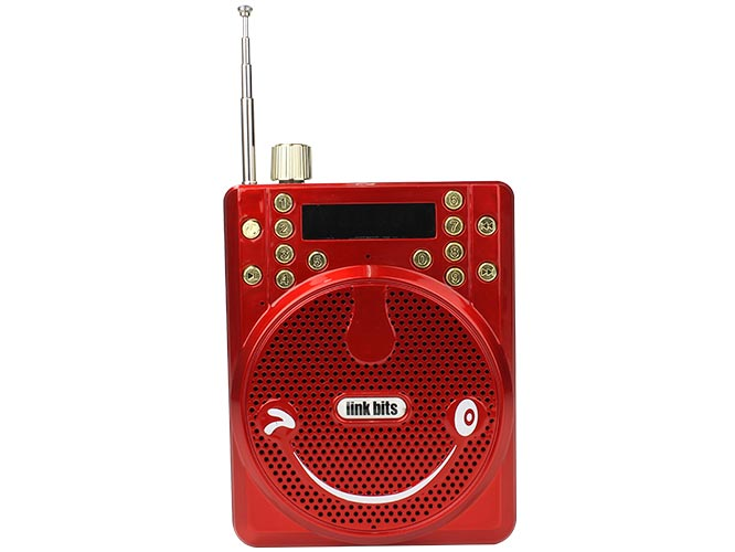 bocina link bits rfr-206 spe-558bt, sonrisa, bluetooth, fm, micro sd/usb, graba voz, incluye cable v3, correa y micrÓfono.