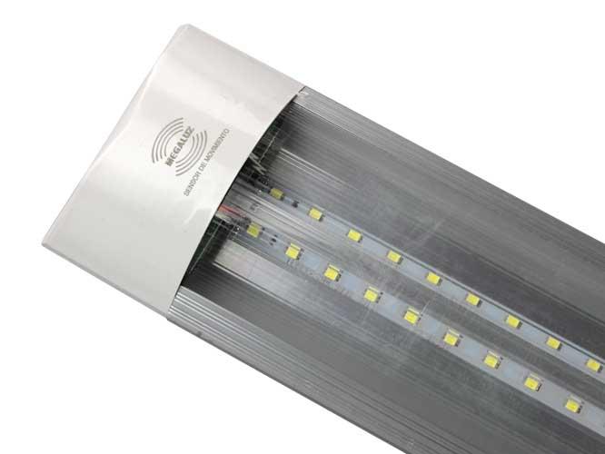 tubo led megaluz lsm02 t8w36sm08, 40w, 2800lm, pantalla traslucida, ahorra hasta un 80% de energia