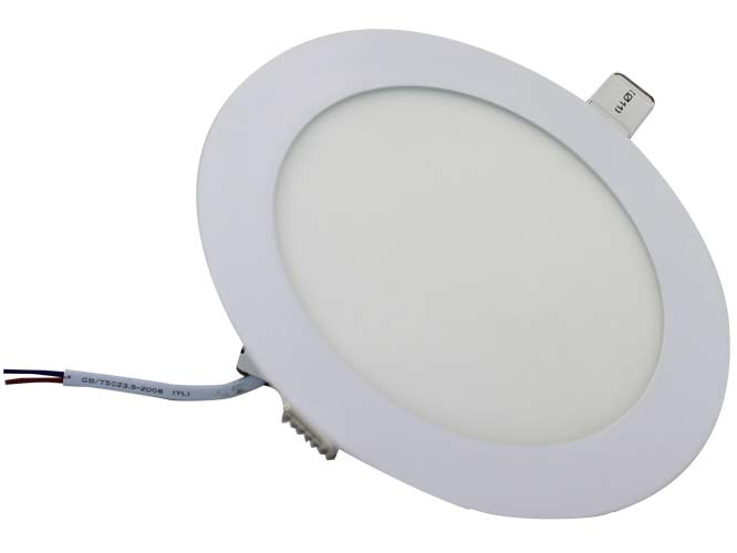 Ilumina tu espacio, dándole un toque diferente y moderno con el LUMINARIO DE LED MEGA LUZ LLS – 008 S04W12, es ligero, para empotrar, diseño circular, luz blanca brillante, alta resistencia a la humedad; Ideal para interiores.